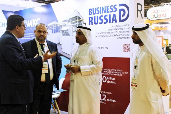 Стенд «Деловой России» вызвал огромный интерес у участников Международной выставки WETEX-2019