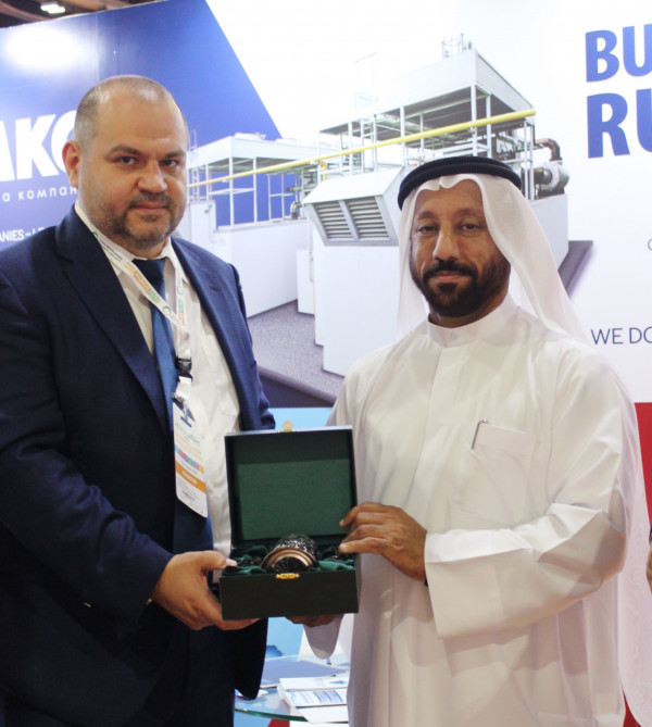 The «Business Russia» stand aroused great interest among the participants of the International Exhibition WETEX-2019