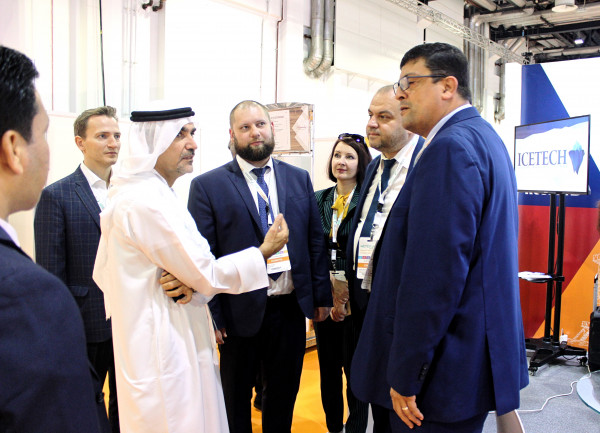 The «Business Russia» delegation on WETEX-2019 set a record number of strategic negotiations held at the stand