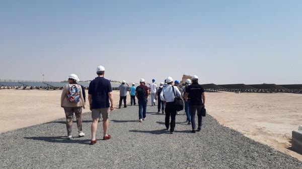 Делегация «Деловой России» в рамках бизнес-миссии в ОАЭ посетила Солнечный парк Mohammed bin Rashid Al Maktoum