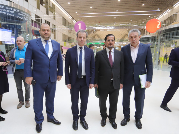 Maksim Zagornov took part in the cultural and business festival «UAE Day in Skolkovo»