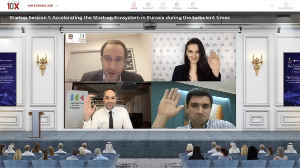 Бизнес-посол «Деловой России» в ОАЭ Максим Загорнов принял участие в форуме AIM-Евразия 2021