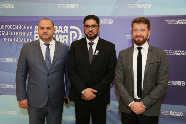 Business Ambassador of Business Russia to the UAE Maksim Zagornov held an extended meeting with the Ambassador of the UAE to the Russian Federation Mohammed Ahmed Al-Jaber