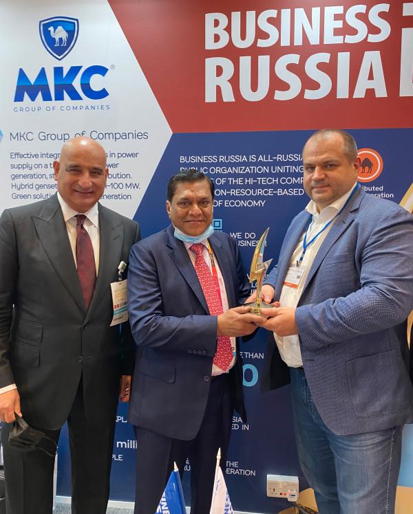 Международная премия «Малая энергетика — большие достижения» вручена Дубайскому управлению электроэнергетики и водных ресурсов (DEWA)